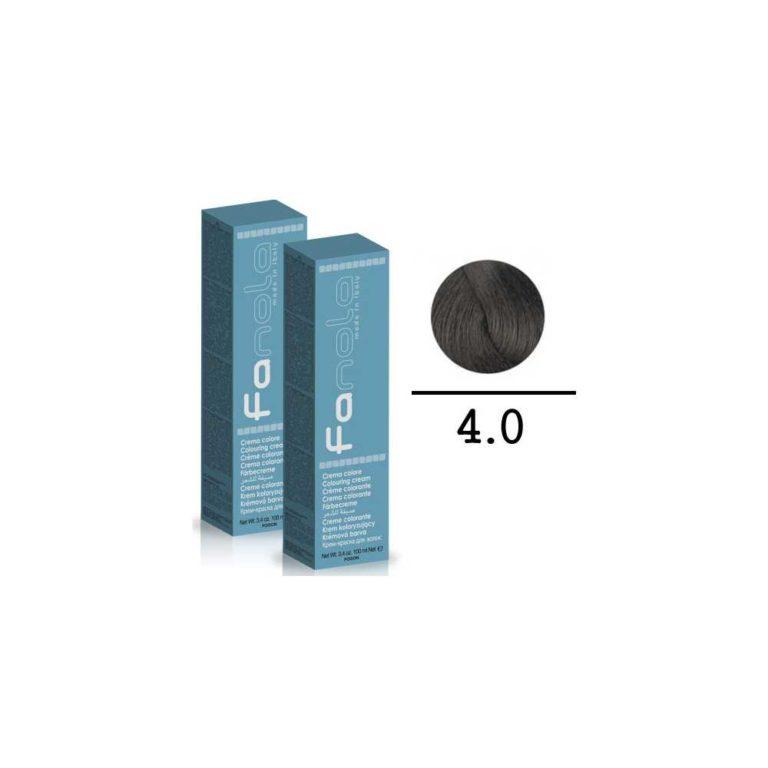 FANOLA - TINTE PER CAPELLI CREMA COLORE 4.0 - 100 ML