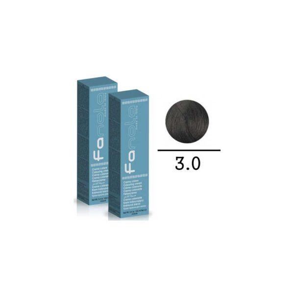 FANOLA - TINTE PER CAPELLI CREMA COLORE 3.0 - 100 ML