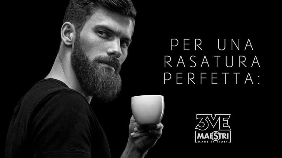 barbershop mestri pennelli da barba creme e schiuma da barba
